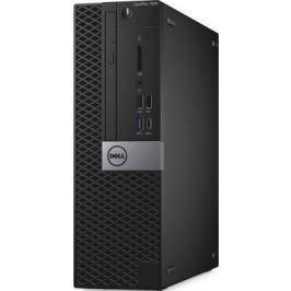 Системный блок DELL Optiplex 7050 SFF i7-6700 3.4GHz 8Gb 1Tb 256Gb SSD R5 430-2Gb DVD-RW Win7Pro Win10Pro черный 7050-4877