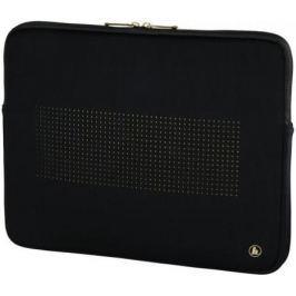 """Чехол для ноутбука 15.6"""" HAMA Neoprene 00101796 неопрен черный золотистый"""