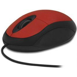 Мышь проводная CBR CM 102 красный чёрный USB