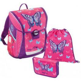 Ранец светоотражающие материалы Step by Step BaggyMax Niffty Sweet Butterfly 18 л рисунок