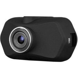 "Видеорегистратор Prestigio RoadRunner 140 1.4"" 1920x1080 110° microUSB microSD microSDHC черный"