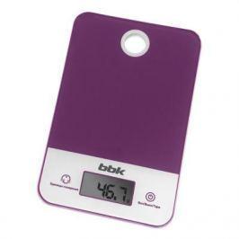 Весы кухонные BBK KS109G фиолетовый