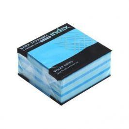 Бумага для заметок с липким слоем МИНИ-КУБ, разм. 51х51 мм, голубая пастель, 250 л