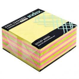 Бумага для заметок с липким слоем, разм. 76х75 мм, желтая пастельная РАДУГА, 400 л
