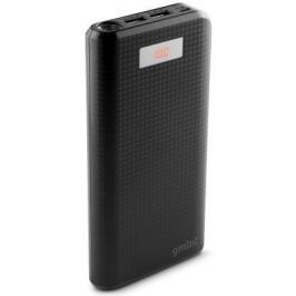 Внешний аккумулятор Power Bank 20000 мАч Gmini GM-PB-200TC черный