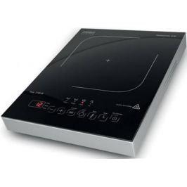 Индукционная электроплитка CASO Pro Gourmet 2100 серебристый чёрный