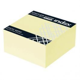 Бумага для заметок с липким слоем, разм. 76х75 мм, желтая, 400 л., 2 шт.