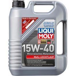Минеральное моторное масло LiquiMoly MoS2 Leichtlauf 15W40 5 л 1933
