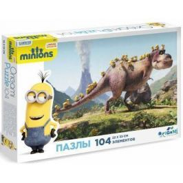 Пазлы 104 Minions