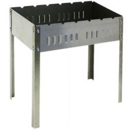 BOYSCOUT Мангал 500х300х500 мм сборный без шампуров в картонной коробке