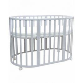 Кроватка с маятником 7-в-1 Everflo Allure (gray)
