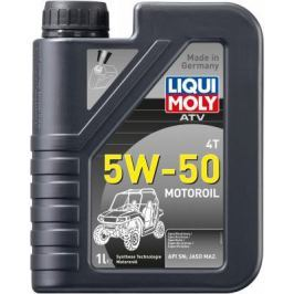 НС-синтетическое моторное масло LiquiMoly ATV 4T Motoroil 5W50 1 л 20737