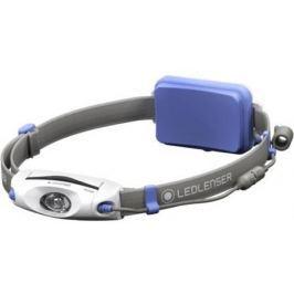 Фонарь налобный Led Lenser Neo 6R синий