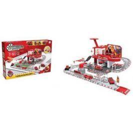 Машина Наша Игрушка Пожарная станция красный TH8549