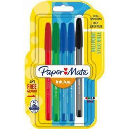 Набор шариковых ручек Paper Mate InkJoy 5 шт разноцветный в ассортименте