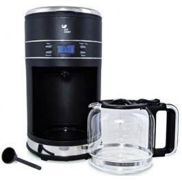 Кофеварка KITFORT KT-704-2 1000 Вт черный серебристый