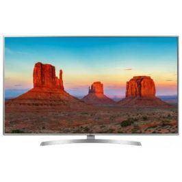 Телевизор LG 50UK6510PLB серебристый черный