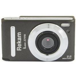 "Цифровая фотокамера Rekam iLook S970i 21 Mpx 3"" LCD серый"