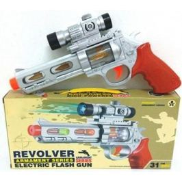 Револьвер Наша Игрушка Револьвер серебристый оранжевый Y9082345