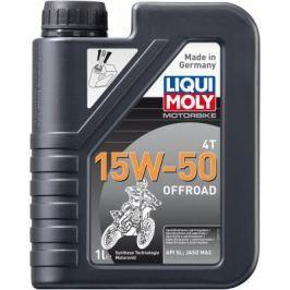 НС-синтетическое моторное масло LiquiMoly Motorbike 4T Offroad 15W50 1 л 3057