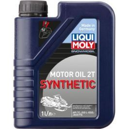 Cинтетическое моторное масло LiquiMoly Snowmobil Motoroil 2T Synthetic L-EGD 1 л 2382