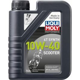 НС-синтетическое моторное масло LiquiMoly Motorbike 4T Synth Scooter 10W40 1 л 7522