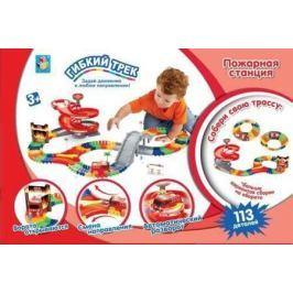 Набор 1 toy Пожарная станция разноцветный Т59308