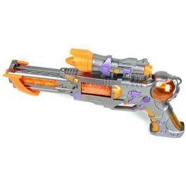 Бластер Наша Игрушка Бластер серебристый желтый оранжевый 1018B
