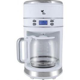 Кофеварка KITFORT KT-704-1 1000 Вт белый