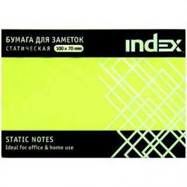 Бумага для заметок статическая, маркерная, 70х100мм, желтая, 100л
