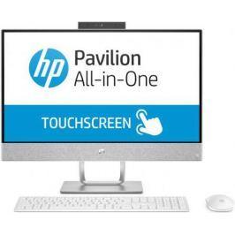 "Моноблок 23.8"" HP Pavilion 24-x030ur 1920 x 1080 Touch screen Intel Core i3-7100T 4Gb 1Tb Radeon 530 2048 Мб Windows 10 Home белый 3ES06EA"