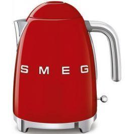 """Чайник Smeg """"Стиль 50-х годов"""" 2400 Вт красный 1.7 л нержавеющая сталь KLF03RDEU"""