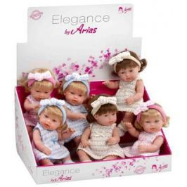 Кукла 1toy Elegance с бантиком 33 см Т58632