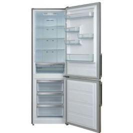 Холодильник Shivaki BMR-1883NFX нержавеющая сталь (двухкамерный)