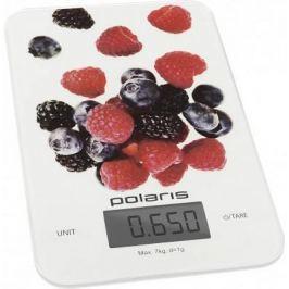 Весы кухонные Polaris PKS 0740DG белый рисунок