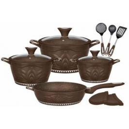 1305-WR Набор посуды WINNER 12 предметов. Состав: литой алюминий, нейлон. PRINCESS