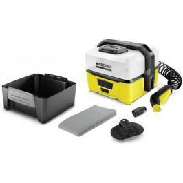 Минимойка Karcher OC 3 Pet, давление пара 4 бар, набор насадок, аккумулятор