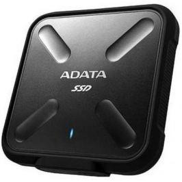 Внешний жесткий диск SSD USB3.0 256 Gb A-Data SD700 ASD700-256GU3-CBK черный