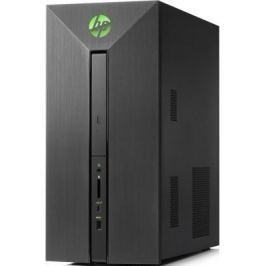Системный блок HP Pavilion Power 580-008ur i7-7700 3.6GHz 8Gb 1Tb 128Gb SSD GTX1060-3Gb DVD-RW Win10 клавиатура мышь черный/зеленый 2BX56EA