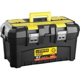 Ящик STAYER 38016-19 пластиковый для инструмента 490x290x270мм 19