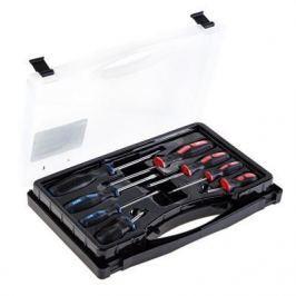 Набор отверток FIT 56042 8 шт., CrV, прорезин. ручки, в чемоданчике