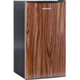 Холодильник Shivaki SDR-084T темное дерево (однокамерный)
