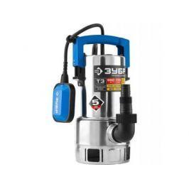 Насос ЗУБР НПГ-Т3-550-С профессионал т3 погружной дренажный для грязной воды d частиц до 35мм 550В