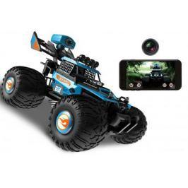 Hot Wheels багги на р/у, 2,4GHz, 2WD, FPV, wifi кам.480p, масшт. 1:28, со светом, скор. до 20км/ч, управл. смартфоном, с АКБ, синяя