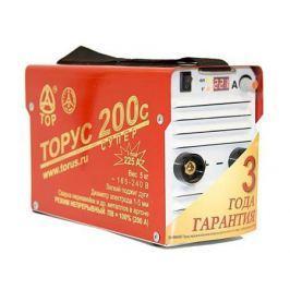 Инвертор сварочный ТОРУС 200с 165-242В 7.2кВт 20-220А 2.0-5.0мм ПВ100% при 200А! ММА и TIG