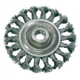 Кордщетка PROLINE 32530:P дисковая сталь пров.волн. fi=100мм резьба М14