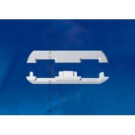 Набор заглушек для алюминиевого профиля (4 шт.) Uniel UFE-N08 Silver