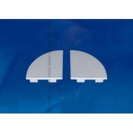Набор заглушек для алюминиевого профиля (4 шт.) Uniel UFE-N09 Silver