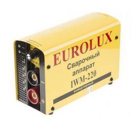 Инвертор сварочный EUROLUX IWM220 220В 10-220А ПВ70% 4.85кг