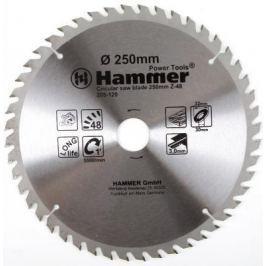 Диск пильный Hammer Flex 205-120 CSB WD 250мм*48*32/30мм по дереву